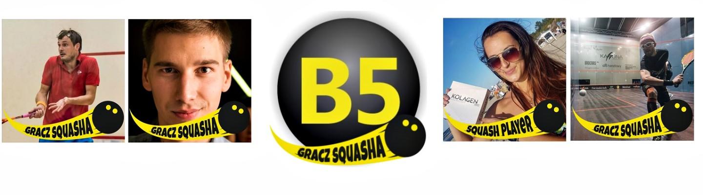 Pokaż swoją dumę z bycia graczem squasha!